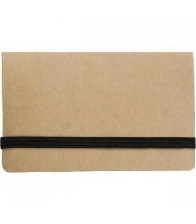 Brosura din carton cu note lipicioase