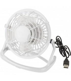Ventilator de birou din plastic cu usb