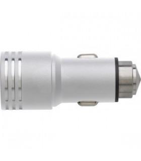 Adaptor 2 porturi USB auto si spargator de geam